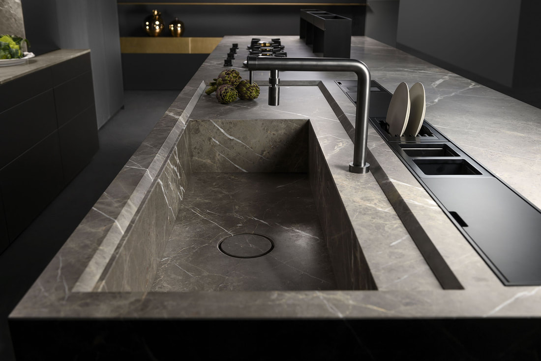 top in marmo cucine milano